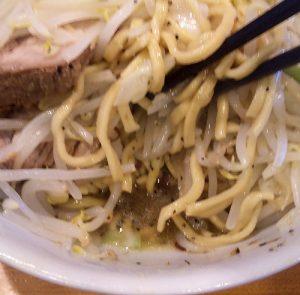 塩ドクロ2の麺